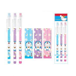 ดินสอต่อไส้ Doraemon - 130 (3แท่ง)