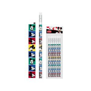 ดินสอไม้ Mickey Mouse - 227 (6แท่ง)