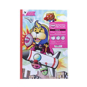 สมุดวาดภาพ Master Art D-214 100G 10แผ่น