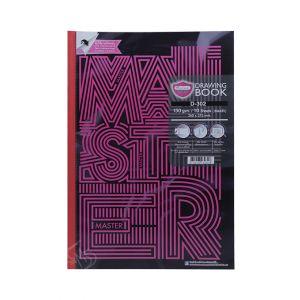 สมุดวาดภาพ Master Art รุ่น D-302 150G 10 แผ่น