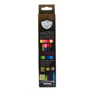 สีไม้ Master Art 2หัว 12สี รุ่น Master Series