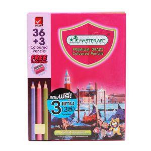 สีไม้ แท่งยาว Master Art 36 สี