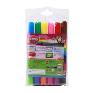 ปากกาเมจิกล้างออกได้ Master Art 6 สี