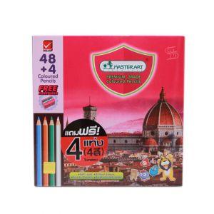 สีไม้ แท่งยาว Master Art 48 สี